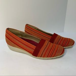 Munro Bonita Wedge Slip On Walking Shoes Sz 8.5 M